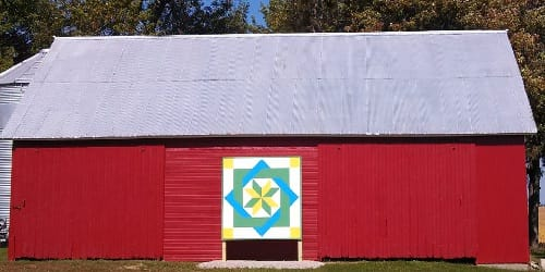 Nick & Nancy Meier | Black Hawk County Barn Quilts | Harvest Blessings | Cedar Falls, Iowa