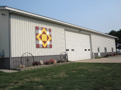 Nick & Nancy Meier | Black Hawk County Barn Quilts | Country Pride | Cedar Falls, Iowa