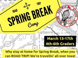 It's an exciting road trip each day of Hartman Reserve's Spring Break Camp!