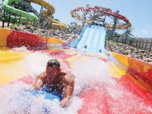 The Lost Island Waterpark in Waterloo has mini golf, go-karts and an amazing water park!