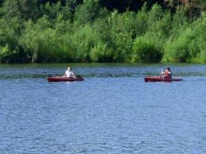 Hartman Reserve Nature Center hosts Paddle in the Park, Big Woods Lake in Cedar Falls throughout the summer