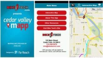 Cedar Valley MApp, Cedar Valley Trails Map App