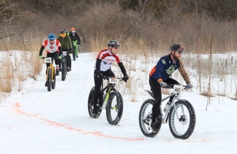2018 Iowa Games Fat Bike Race