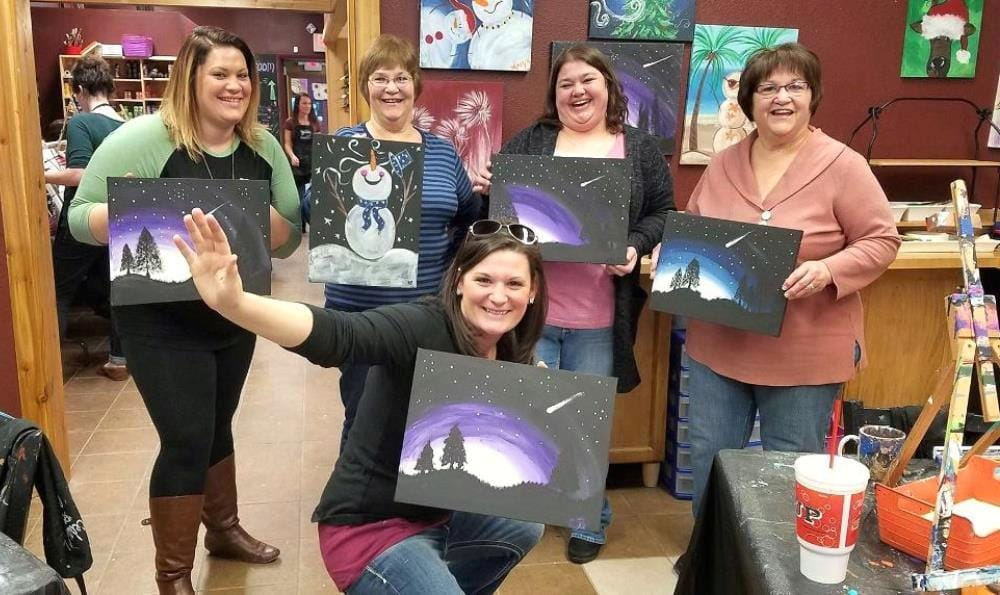 Cedar Valley Art & Wine is Cedar Falls is a great place to gather with friends.