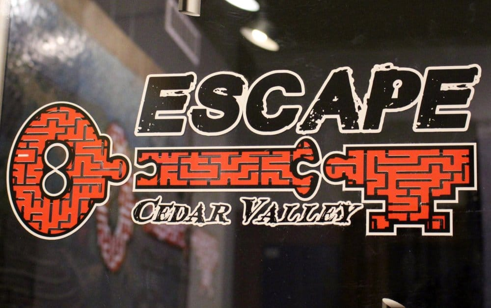 Escape Cedar Valley is fun entertainment for family, friends and businesses!