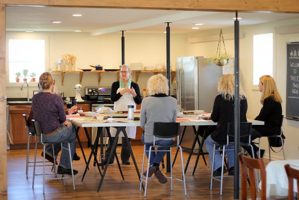 Artisan teach an array of classes throughout the year at Three Pines Farm in Cedar Falls