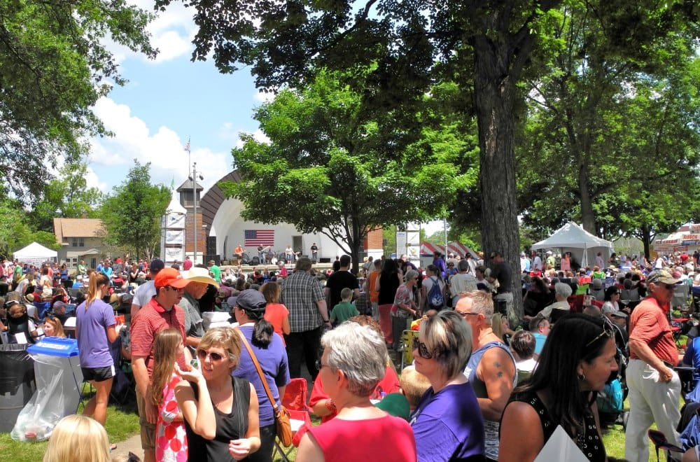 Overman Park is home to food vendors and lots of entertainment | Sturgis Falls Celebration 2017 is June 23-25