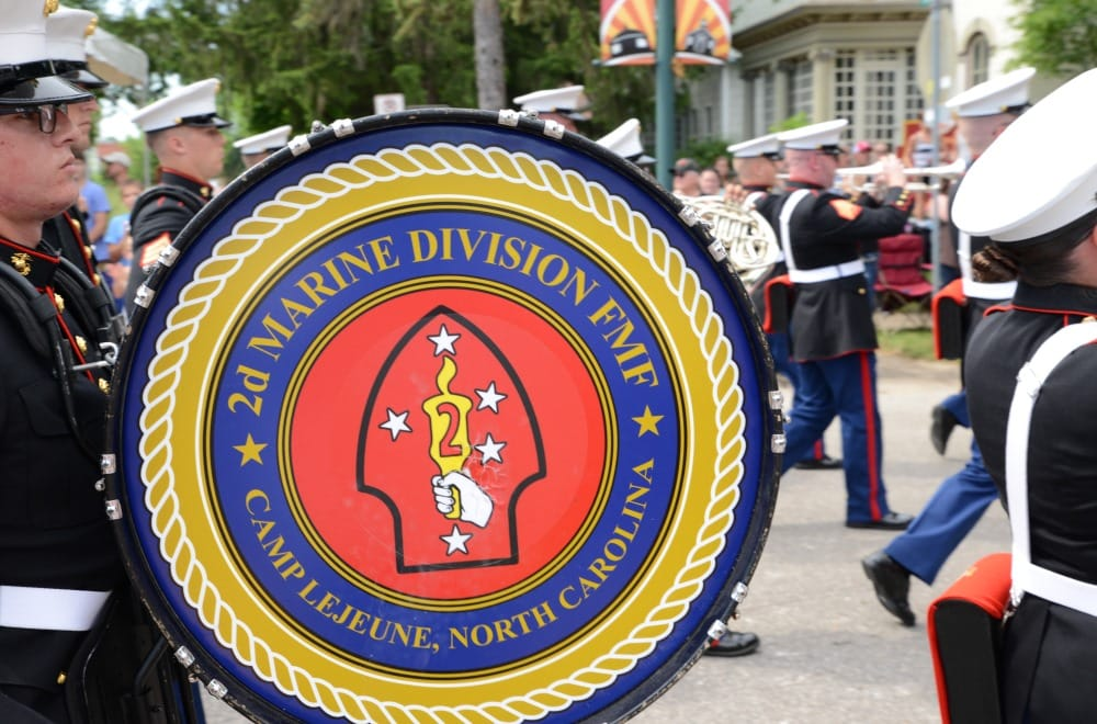 Camp Lejeune Marine Band at the Sturgis Falls Celebration in Cedar Falls, Iowa, June 23-25, 2017