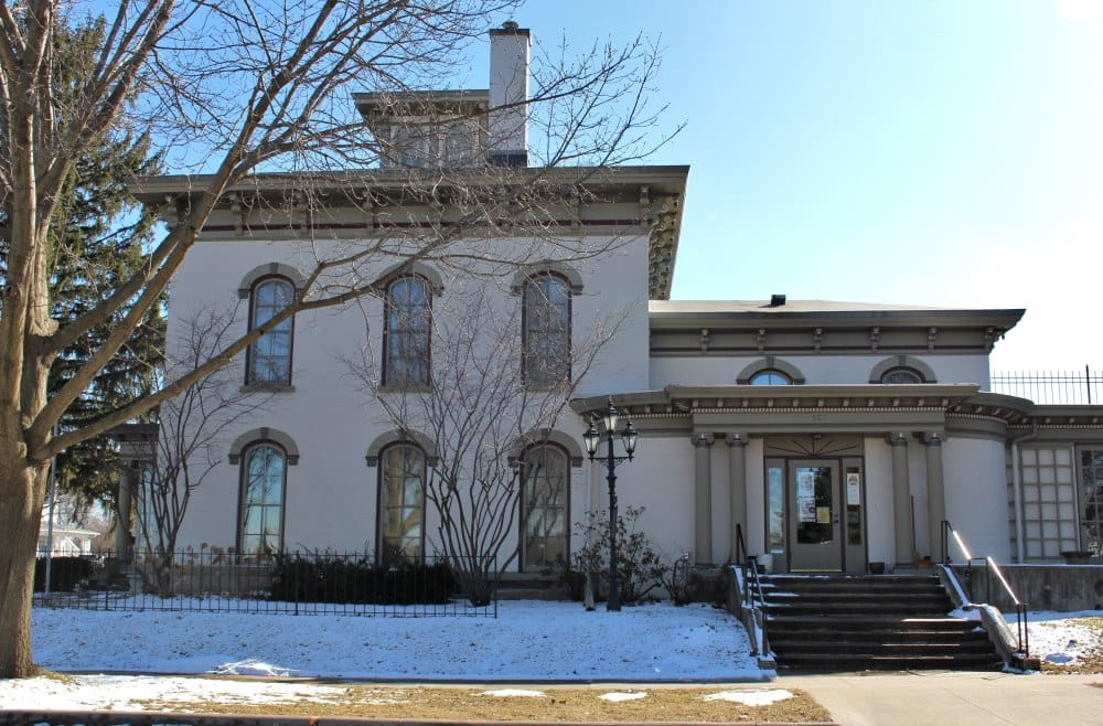 The Victorian Home is just one of the sites you can visit that is part of the Cedar Falls Historical Society.