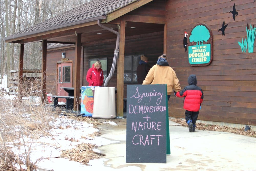 Visitors can view syruping demos in the Sugar Shack. In 2017, the Maple Syrup Festival will be at Cedar Heights Elementary on Rainbow Drive in Cedar Falls.