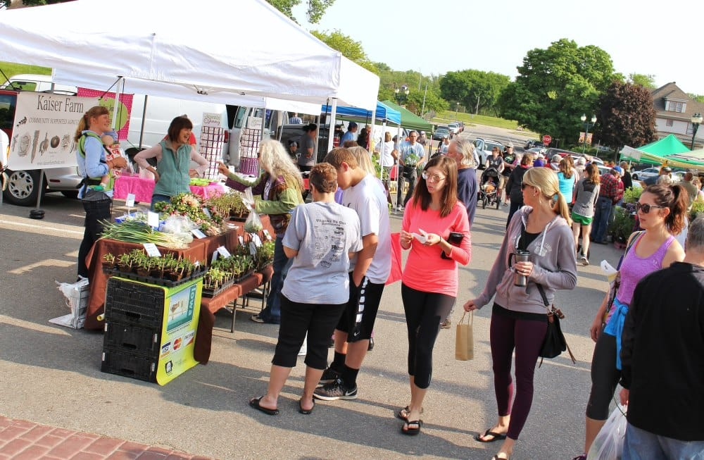 Farmers markets in Black Hawk County begin to open the first weekend in May!