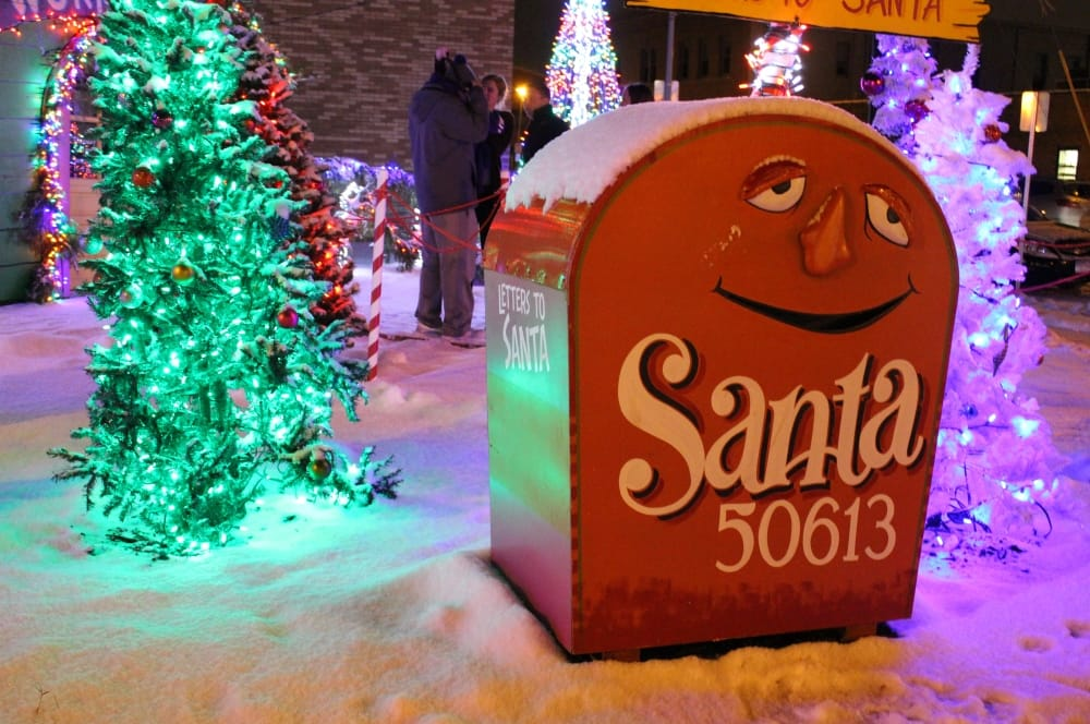 Holiday Events 2017 | Santa 50613 in downtown Cedar Falls
