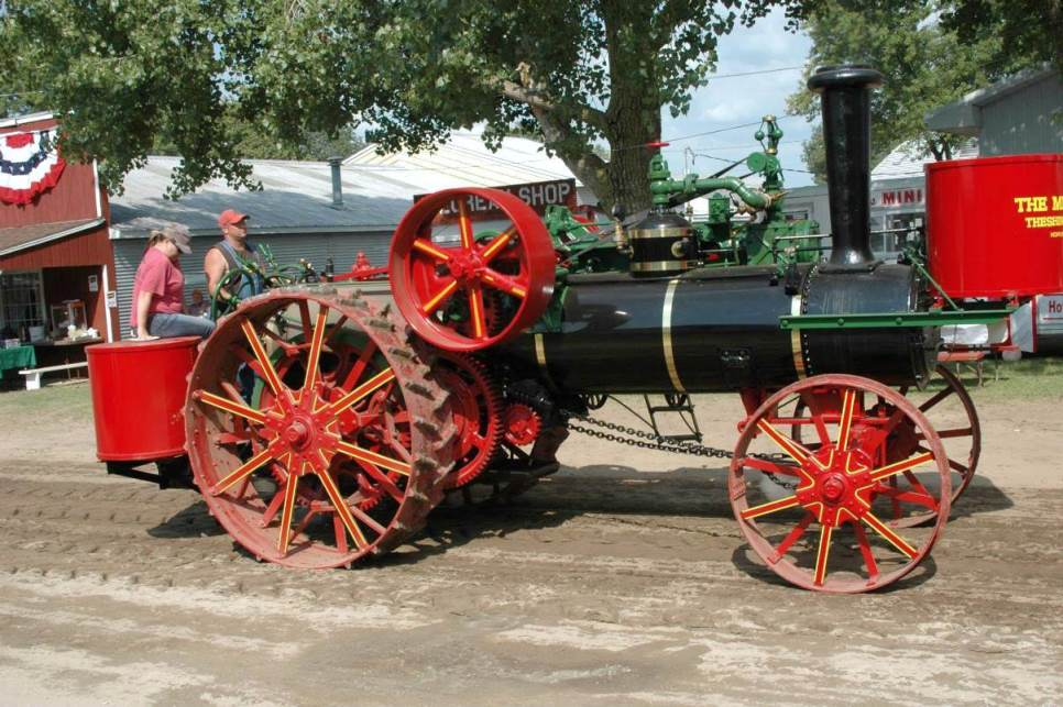 """Power Parade"" at the Old Time Power Show at Antique Acres in Cedar Falls, Iowa. August 19-21, 2016"