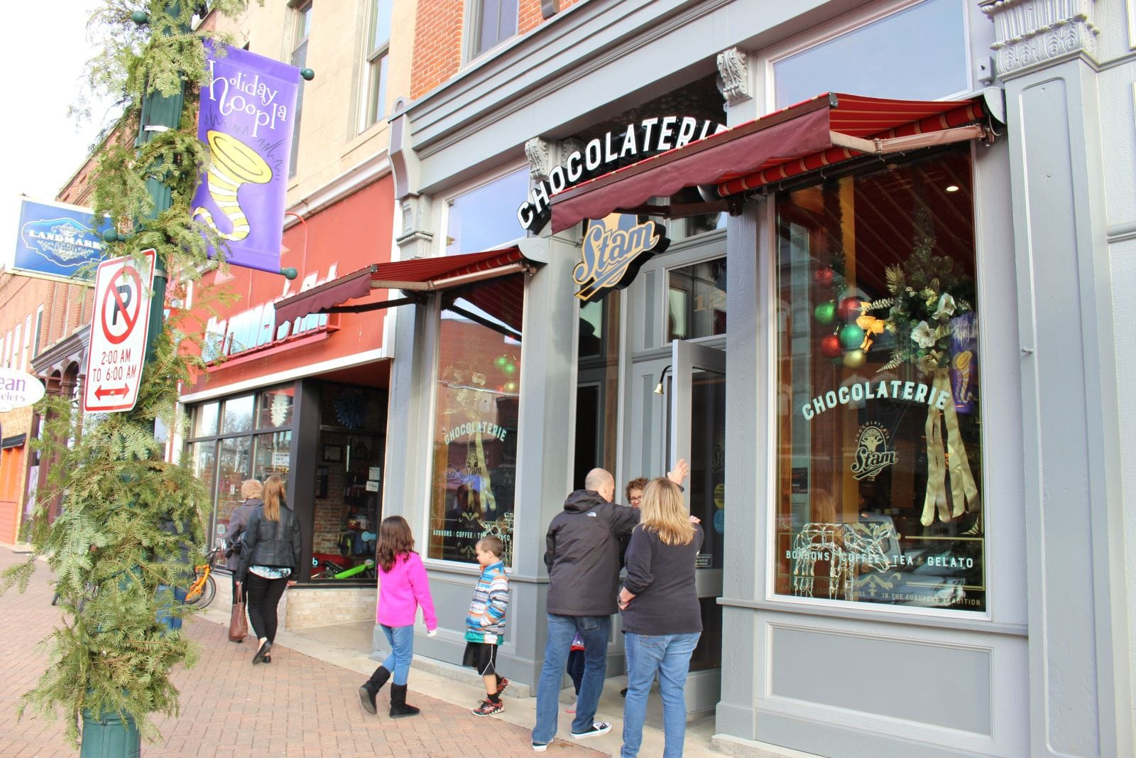 Chocolaterie Stam | downtown Cedar Falls, Iowa | 'Tis the Season for Candy and Treats! Blog Post