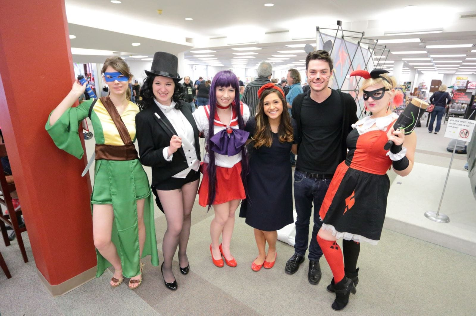 Rod Con 2016 cosplay | April 2, 2016 at UNI's Rod Library, Cedar Falls, Iowa