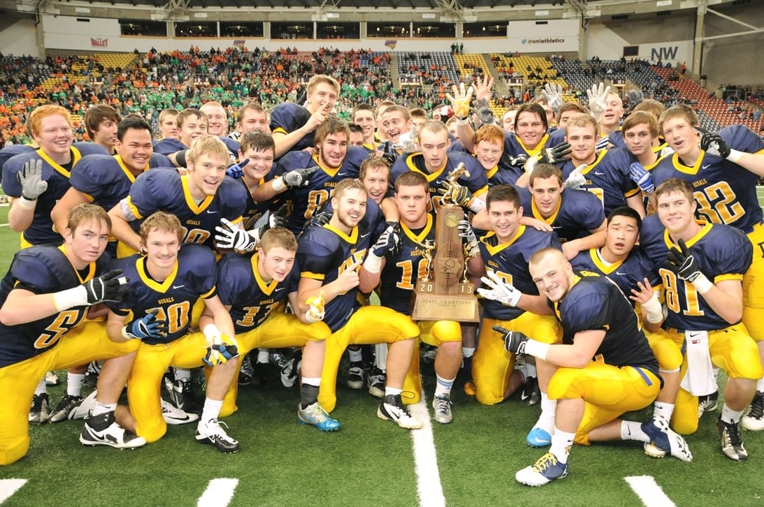 IHSAA 2014 High School Football Champions, Iowa City Regin, UNI-Dome | Cedar Falls, Iowa