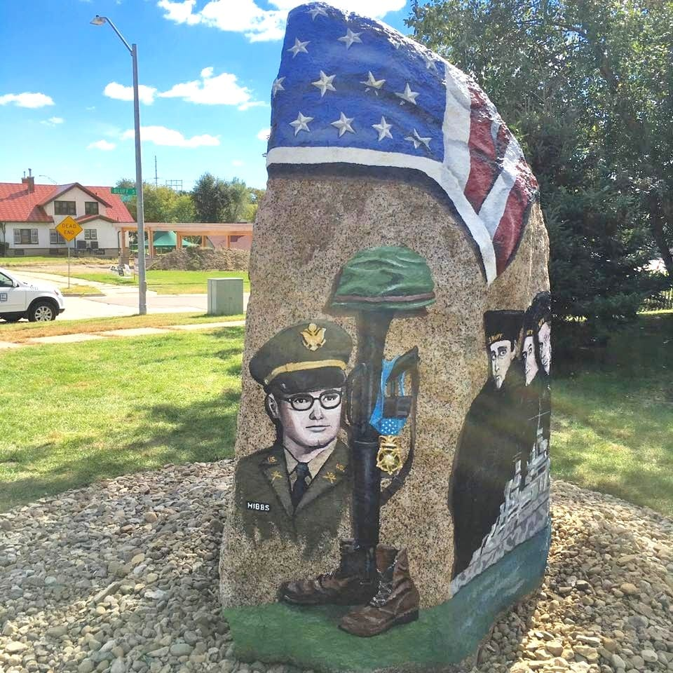Freedom Rock, Veteran's Memorial Park | Cedar Falls, Iowa