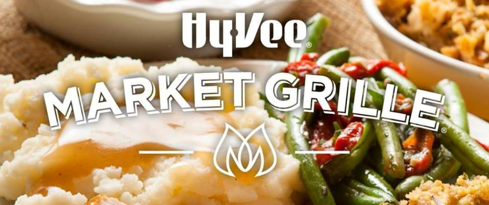 Hy-Vee Market Grille in Cedar Fals will be serving until 1pm Thanksgiving Day, 2016