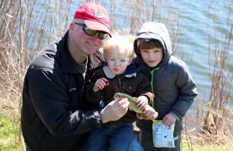 Trout Stocking Family Day