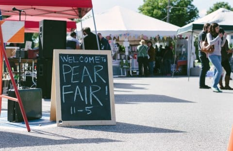 College Hill's Pear Fair and Oktoberfest
