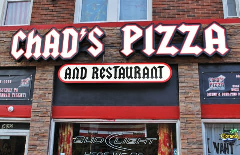 Chad's Pizza brings Dine In or Carryout options. You can also get delivery anywhere in the Cedar Valley.