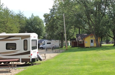 full hookup rv sites in iowa