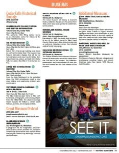 2015 Visitors Guide Museums 2 Blog