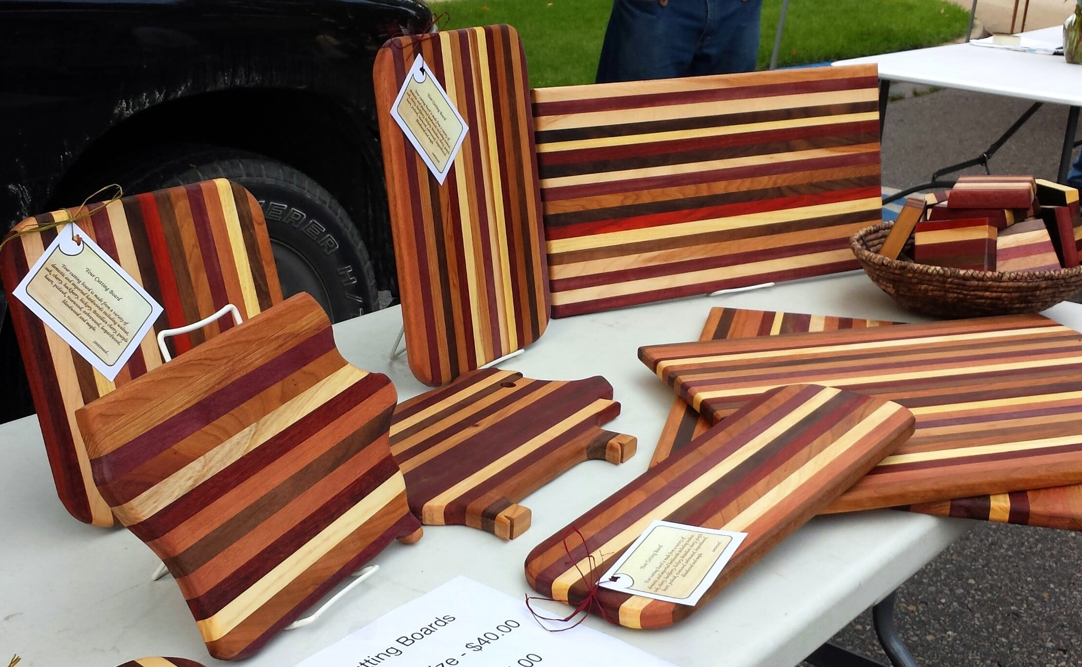 Farmers Market cutting boards