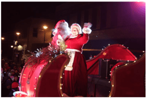 Holiday Hoopla Santa and Mrs for blog 11.26.14