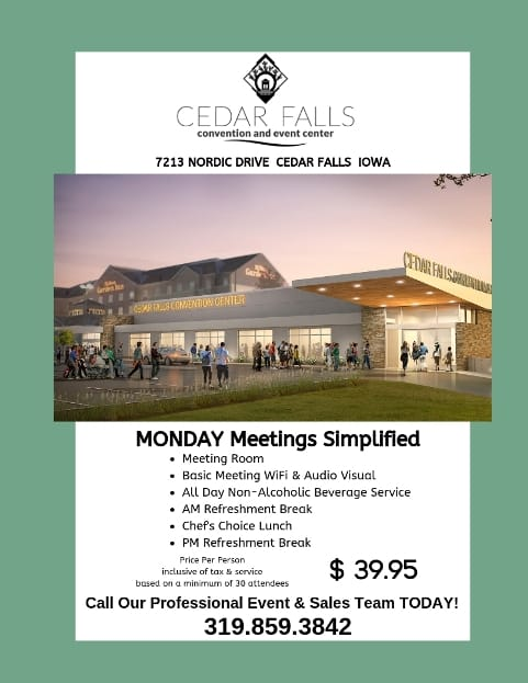 Monday Meetings Simplified - Cedar Falls Convention and Event Center