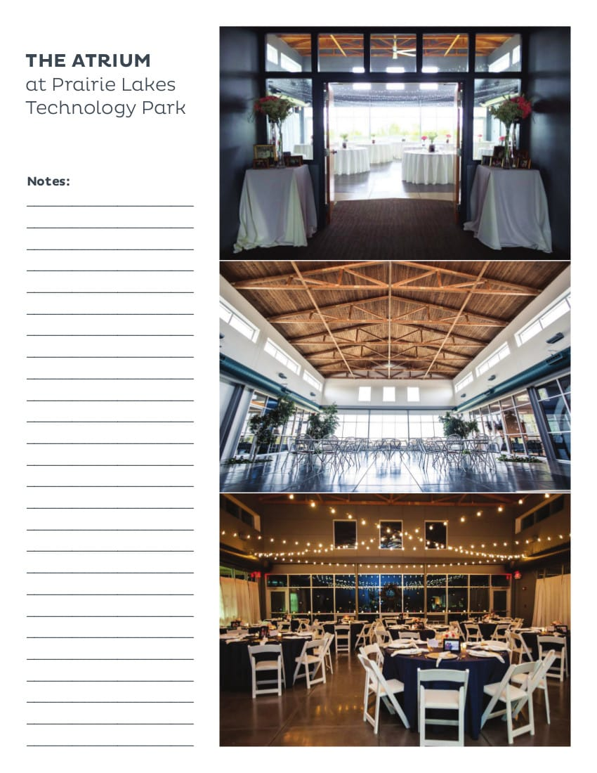 The Atrium at Prairie Lakes Technology Park  |  Meeting Facilities  |  Cedar Falls, Iowa