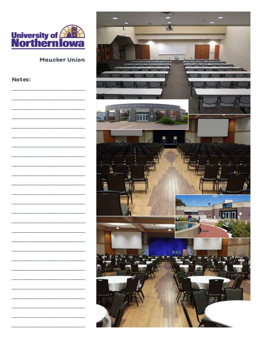 UNI  |  Meeting Facilities  |  Cedar Falls, Iowa