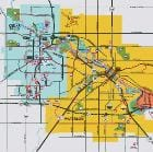 Tourism Points of Interest Metro Map | Cedar Falls and Waterloo, Iowa