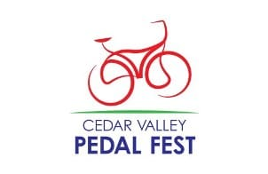 SAVE THE DATE! The 2nd annual Cedar Valley Pedal Fest will be held July 1 and 2, 2017!