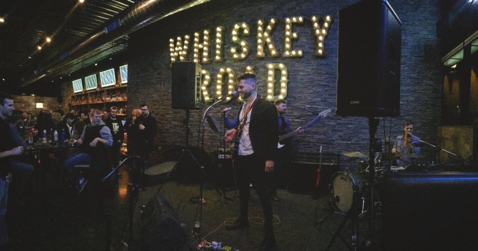 Whiskey Road in Cedar Falls with the Woodhaven Brothers