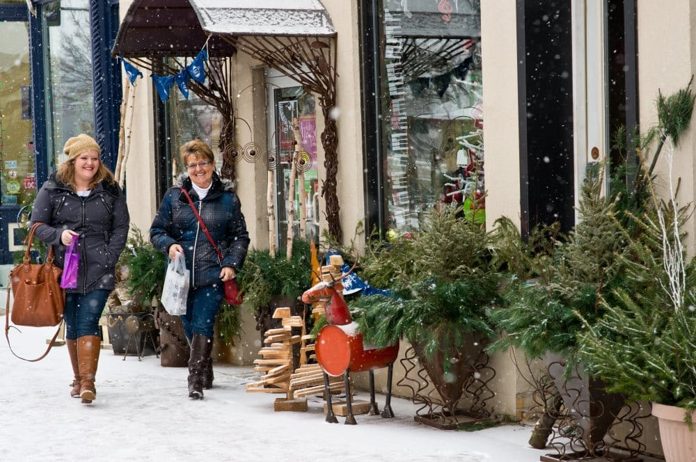 Cedar Falls, Iowa is a great place to shop, dine and have fun - in the winter!