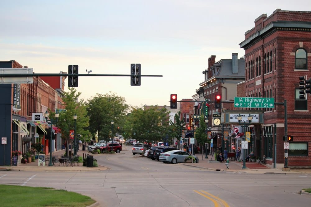 Historic Cedar Falls Downtown District