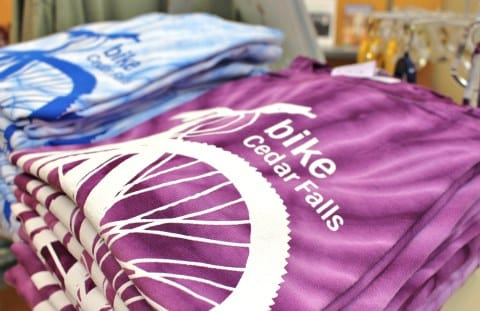 Cedar Falls Iowa Visitor Center Gift Shop | Bike Shirts