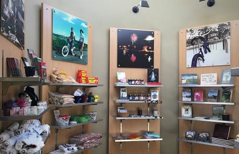 Cedar Falls Iowa Visitor Center Gift Shop