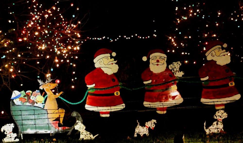 Christmas Lights Near Nashua Iowa 2021