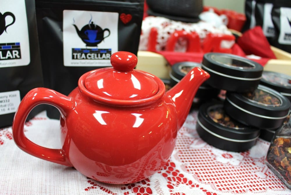 You, Me & Tea event at the Tea Cellar in downtown Cedar Falls, Iowa
