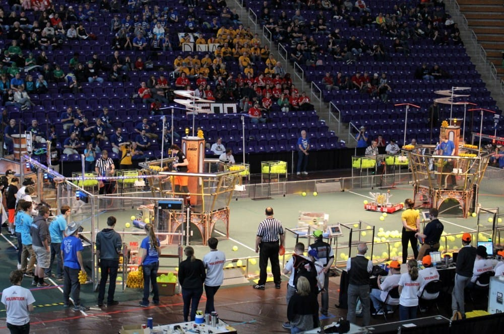 FIRST Robotics Competition Iowa Regional will be March 22-24, 2018