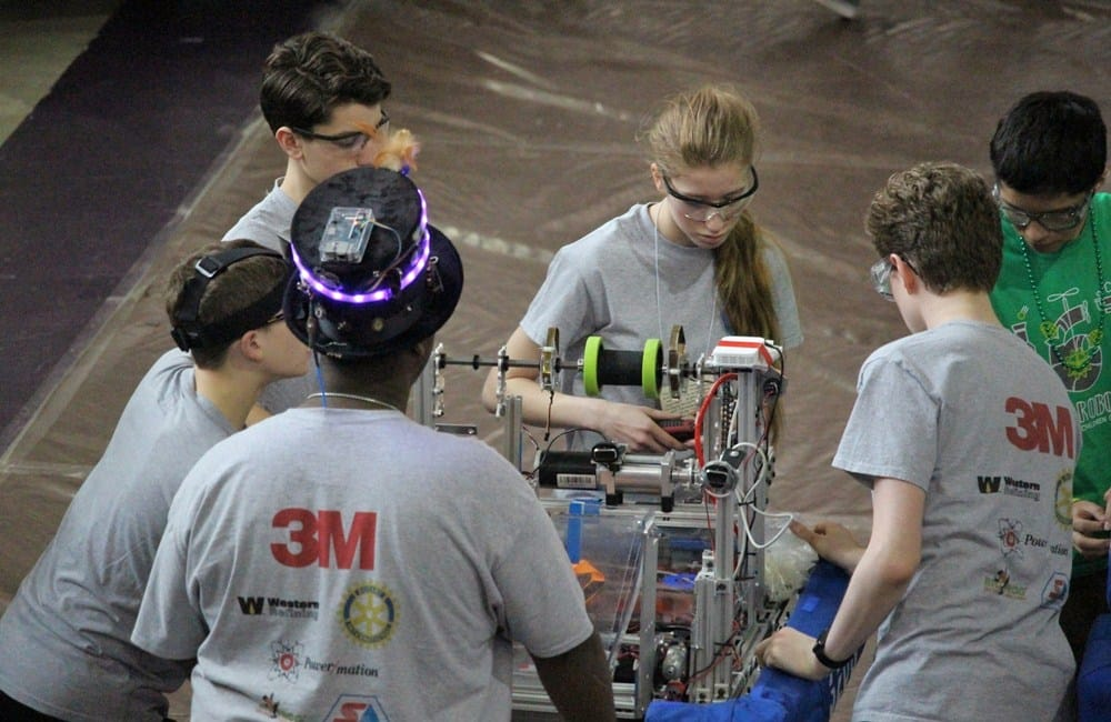 FIRST Robotics Competition is March 22-24, 2018