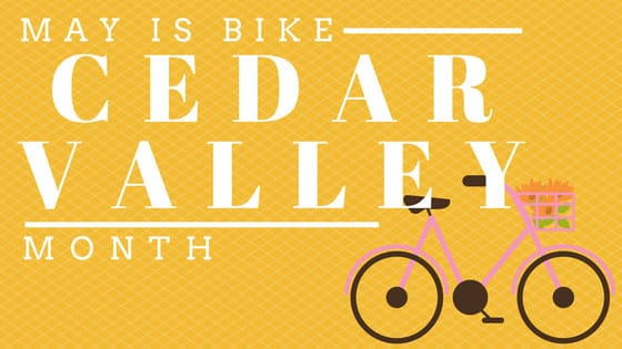 May is National Bike Month | bike the Cedar Valley | Cedar Falls Tourism