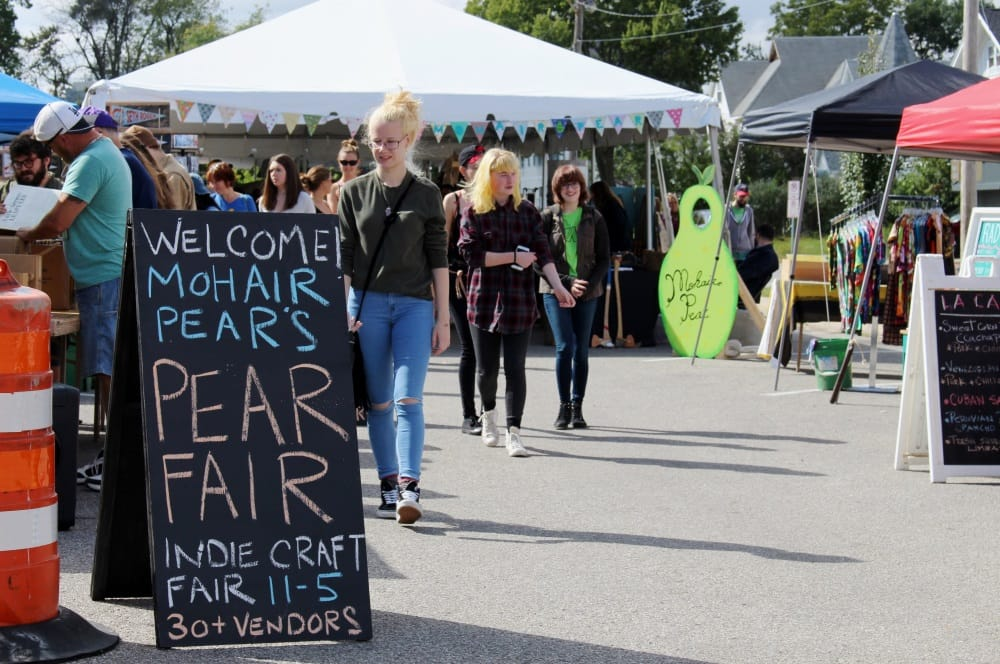 The Pear Fair 2018 - Outdoor, indie craft fair in Cedar Falls, Iowa