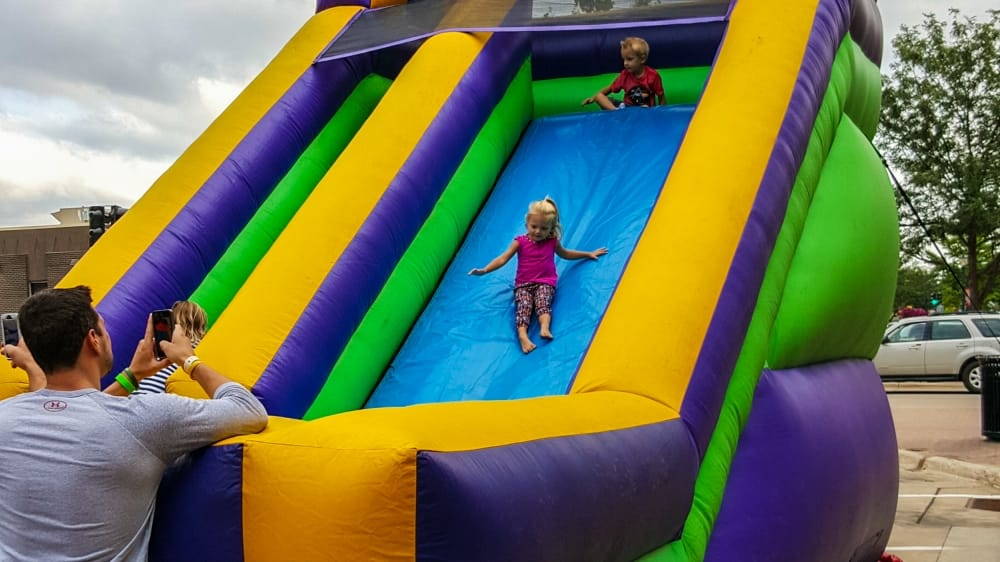 Kids can have fun at FondoFest 2016, too! FondoFest takes place in downtown Cedar Falls, Iowa, August 20, 2016.