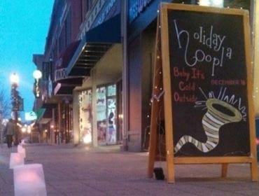 Holiday Hoopla's - Baby It's Cold Outside event | downtown Cedar Falls, Iowa
