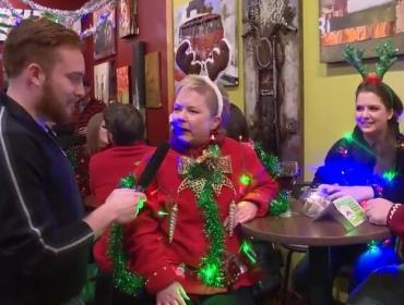 Holiday Hoopla's Annual Ugly Xmas Sweater Contest | downtown Cedar Falls, Iowa